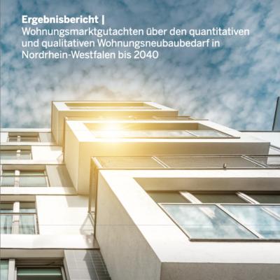 NRW-Landesregierung legt neue Prognose zum Wohnungsmarkt vor