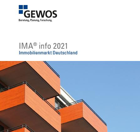 Neues Faltblatt zur GEWOS-Immobilienmarktanalyse IMA®erschienen